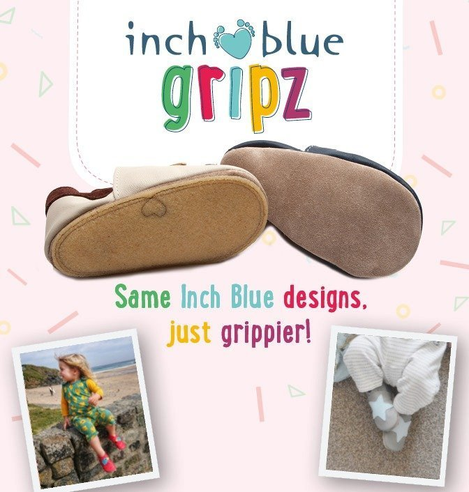Inch Blue | Soft Leather Baby Shoes