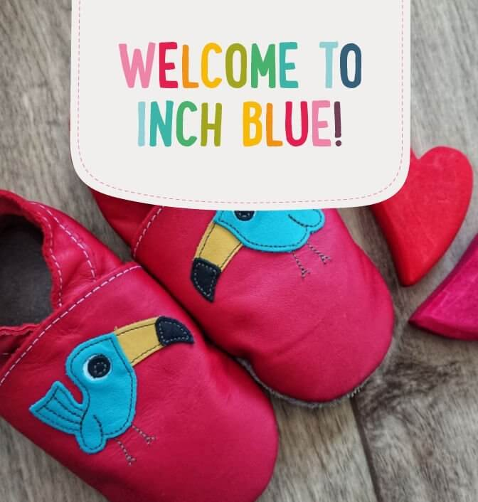 New Inch Blue Toddlers Soft Leather Shoes XL 18-24 months 4 Styles