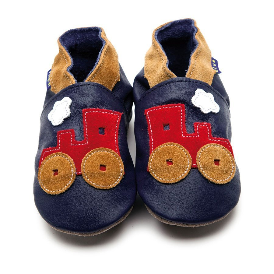 Toot Train Navy/Red/Tan