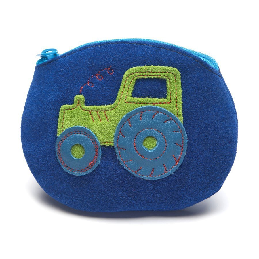 Leather Tractor Purse | Girl & Boy | Farmyard | Handmade