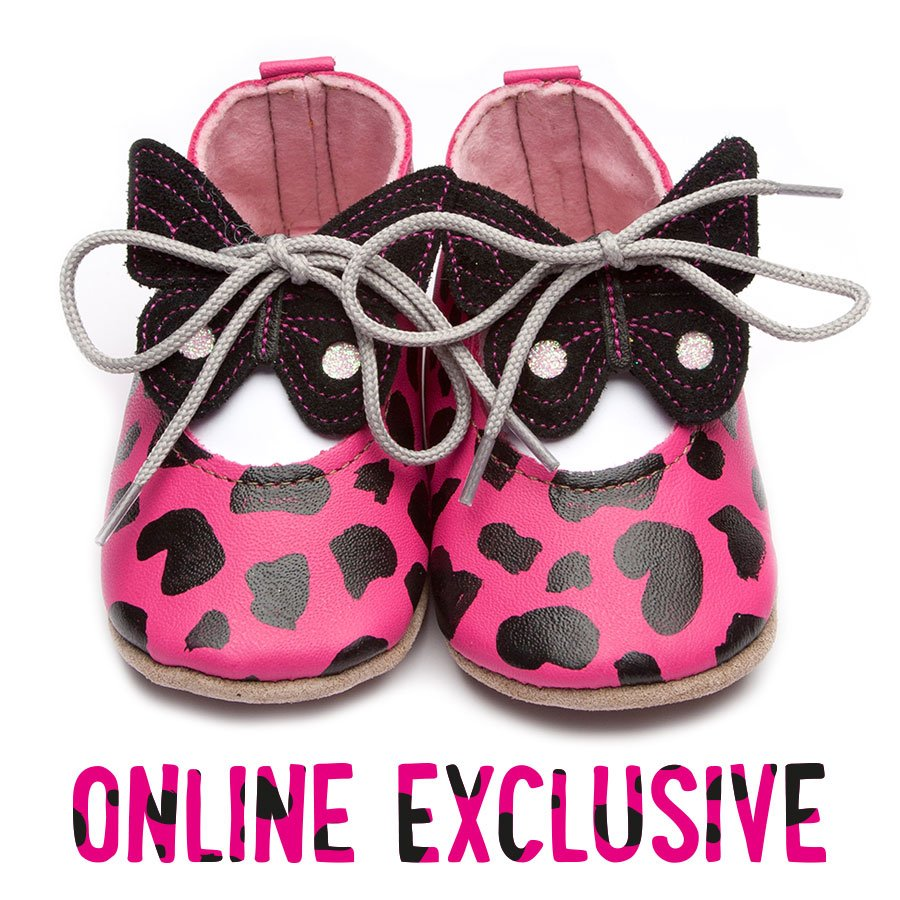 Riley Pink Leopard