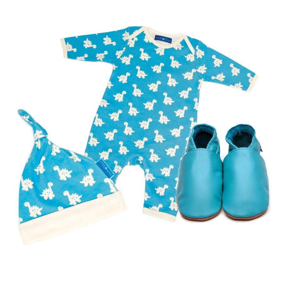 Dinosaur Babygro, Hat & Shoe Set
