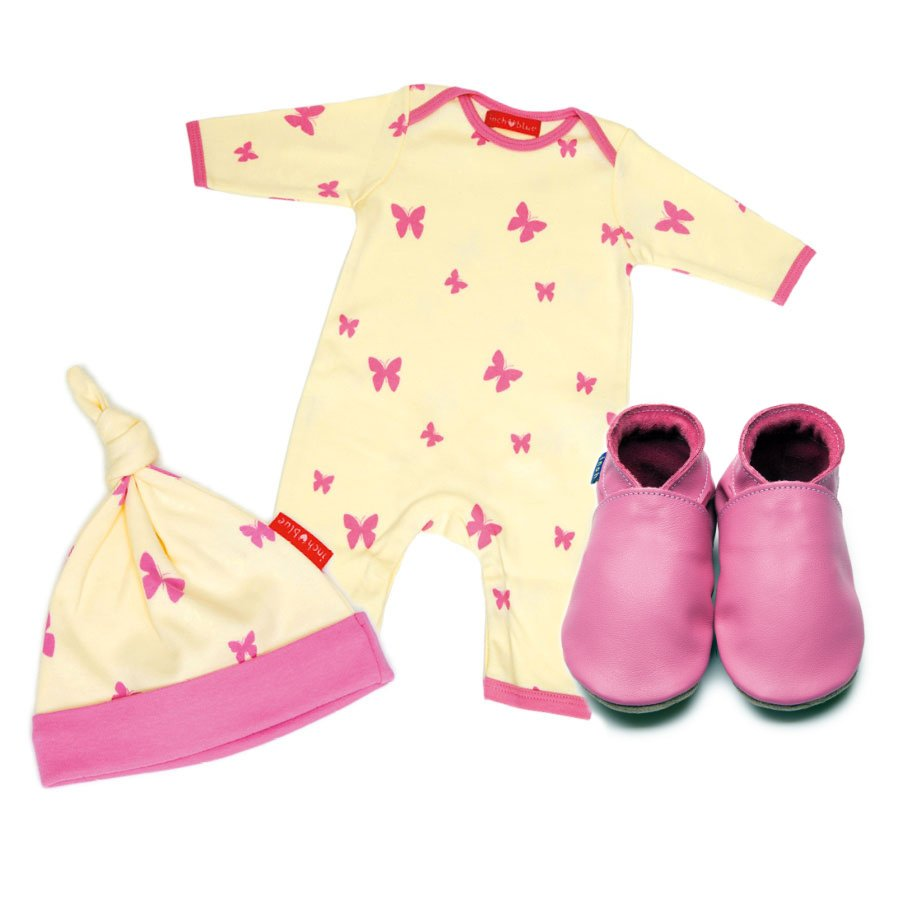 Kaleidoscope Babygro, Hat & Shoe Set